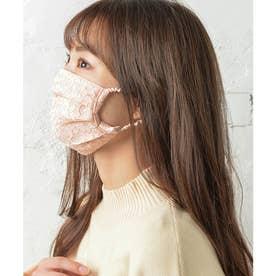 ノーズワイヤー入り肌荒れマスク【返品不可商品】 (ベビーピンク(レースタイプ))