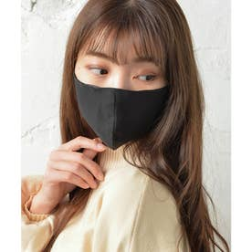 レース・ノーズワイヤー入り肌荒れマスク【返品不可商品】 (ブラック(シフォンタイプ))