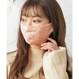 レース・ノーズワイヤー入り肌荒れマスク【返品不可商品】 (ベビーピンク(レースタイプ))