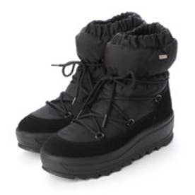 TAYA CRYSTAL レディース防寒ブーツ (Black)