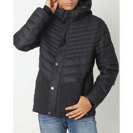 PAJAR RAIDEN MENS QUILTED 3M FEATHERLESS THINSULATE PUFFER WITH FIXED HOOD (BLACK)