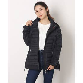 PAJAR MAKANI LADIES CHANNEL QUILTED 3M FEATHERLESS THINSULATE HOOD (BLACK)