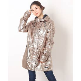 PAJAR CORENTINE LADIES PACKABLE RAINCOAT WITH FIXED HOOD (GOLD)