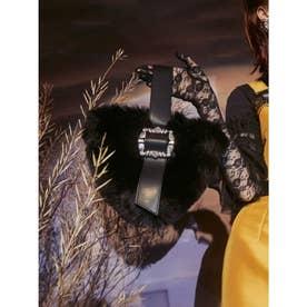 Fur Triangle Bag (ブラック)
