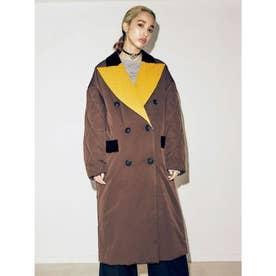 Comforter Coat (ブラウン)