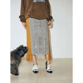 Odile Knit Skirt (グレー)