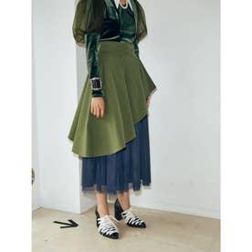 Queen Skirt (カーキ)