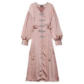 Mandarin Robe Dress (ピンク)