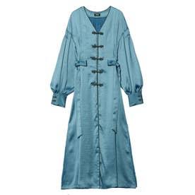 Mandarin Robe Dress (スカイブルー)