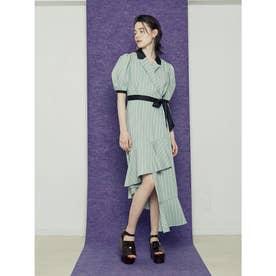 Spiral Dress (グリーン)