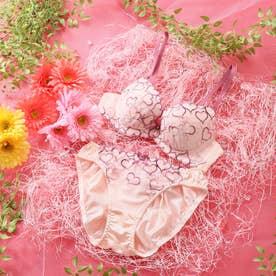 【EFカップ】Sweet Heart 3/4カップブラ&ショーツ 【返品不可商品】 (ピンク)