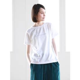 Pao de lo 【VOYAGE】ロゴTシャツ (オフホワイト)
