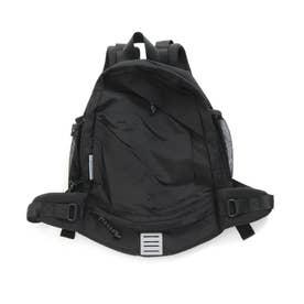 マルチポケットバックパック (ブラック)