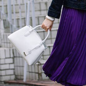 【テレビ ドラマ着用アイテム】/ やぎ革ユーティリティトートバッグS(アイボリー)