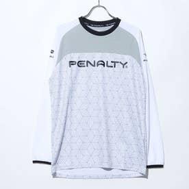 メンズ サッカー/フットサル 長袖シャツ プラシャツ長袖 PU090AP