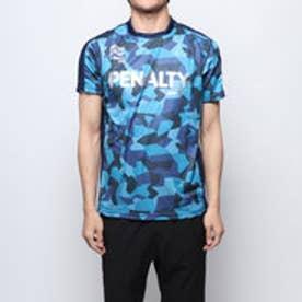 メンズ サッカー/フットサル 半袖シャツ ハイスカモプラトップ PU9250