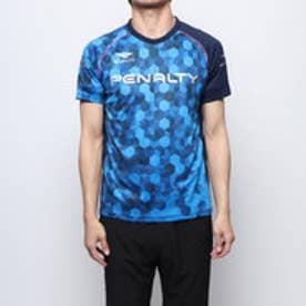 メンズ サッカー/フットサル 半袖シャツ HEXグラデーションプラトップ PU9008