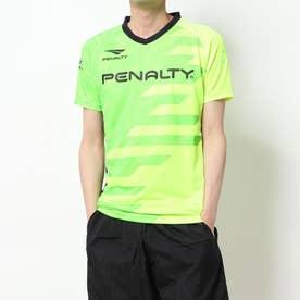 メンズ サッカー/フットサル 半袖シャツ ダイヤゴナルラインドプラトップ PU0008