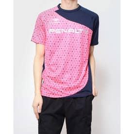 メンズ サッカー/フットサル 半袖シャツ アシンメトリープラシャツ半袖 PU087AP