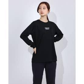 レディース バスケットボール 長袖Tシャツ PN-8KW2630TL (ブラック)