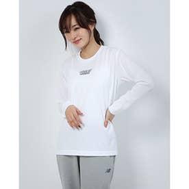 レディース バスケットボール 長袖Tシャツ PN-8KW2630TL (ホワイト)