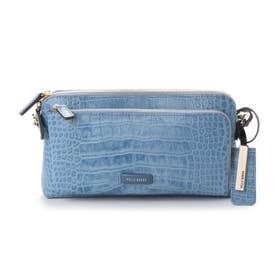 財布ショルダー (ブルー)