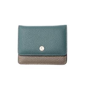 ミニ財布 (ブルーグレー)