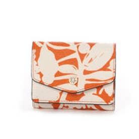 3つ折財布 (オレンジ)