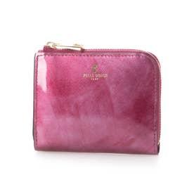 L字ファスナー財布 (ピンク)