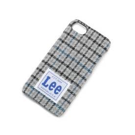 Lee 千鳥柄iPhoneケース (ブラック(119))