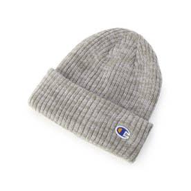 Champion リブニット帽 (グレー)