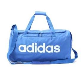【adidas/アディダス】 ロゴ横長ボストンバッグ (ライトブルー)