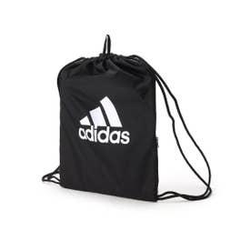 【adidas/アディダス】  ビッグロゴジムバッグ (ブラック)