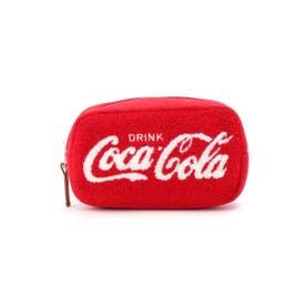 Coca-Cola レクタングルポーチ (レッド)