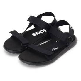 【adidas/アディダス】 CF SANDAL (ブラック(019))