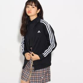 adidas ジャージジャケット (ブラック)