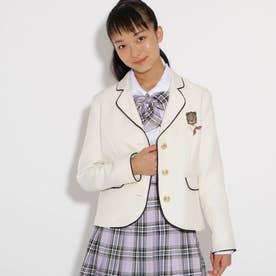 【卒服】パイピングジャケット (オフホワイト)