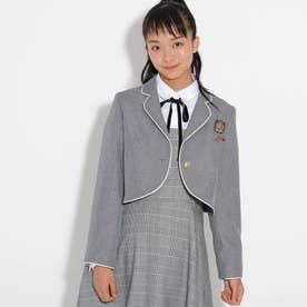 【卒服】パイピンクボレロジャケット (グレー)