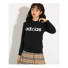 【adidas/アディダス】 フード付スウェット (ブラック)