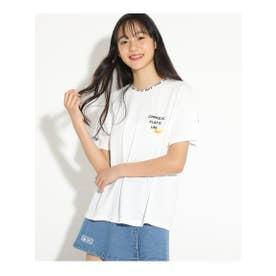 ビニポケモチーフTシャツ (オフホワイト)