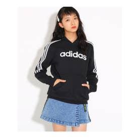 【adidas/アディダス】 スウェットパーカー (ブラック(019))