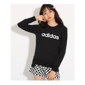【adidas/アディダス】 スウェットクルーネック (ブラック)