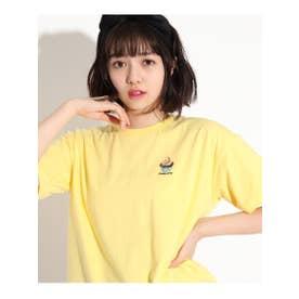 アメリカングラフィックTシャツ (イエロー)