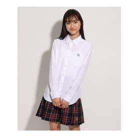 【卒服】シンプルシャツ (オフホワイト)
