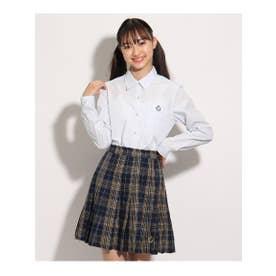 【卒服】シンプルシャツ (サックス)