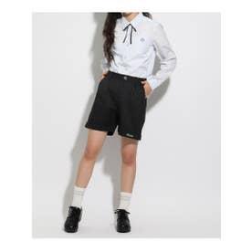 【卒服】リボン付きショートパンツ (ブラック)