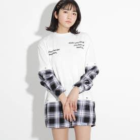 【5WAY】ドッキングチュニックワンピース (ブラック)