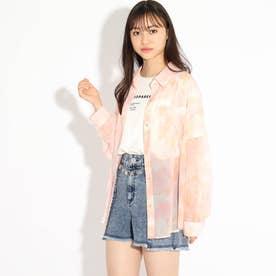 透けシャツ+TシャツSET (ベビーピンク)