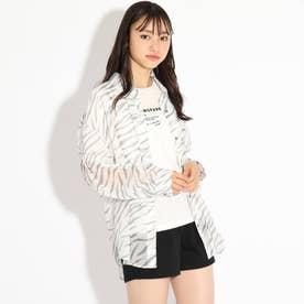 透けシャツ+TシャツSET (オフホワイト)