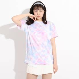 【FILA】タイダイTシャツ (ライトパープル)